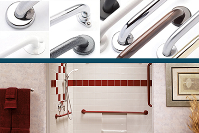 Grab Bars and Accessible Shower