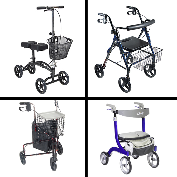 Rollators and Walkers