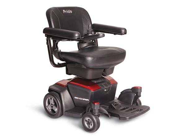 Power Wheelchairs Go Chair Ruby Red