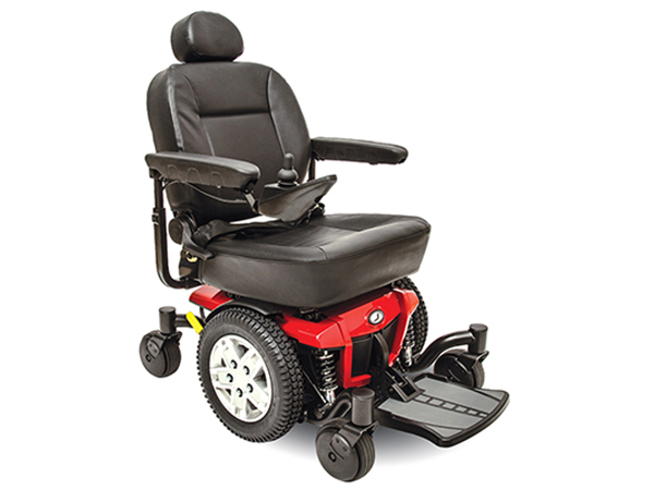 Power Wheelchairs Jazzy 600ex cardinal Red