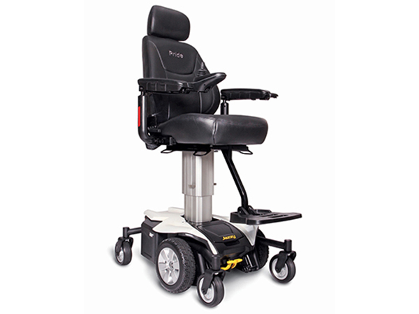 Power Wheelchairs Jazzy Air Pearl White