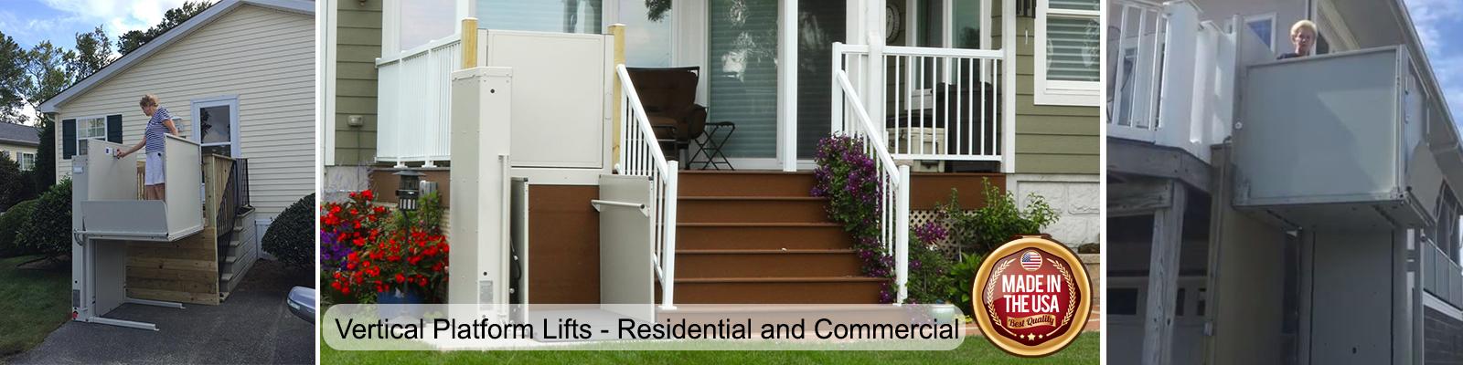 Bruno Vertical Platform Lifts Residential